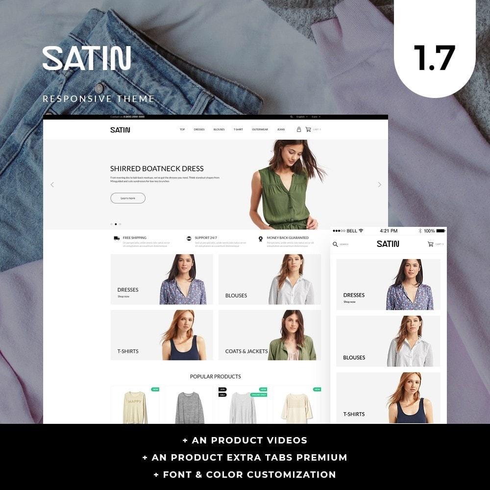 theme - Fashion & Shoes - Satin Fashion Store - 1