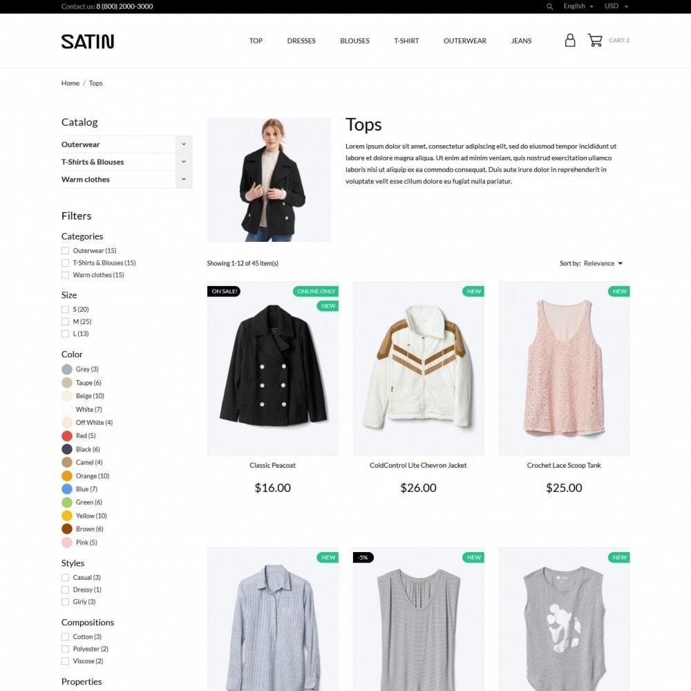 theme - Moda & Calçados - Satin Fashion Store - 5