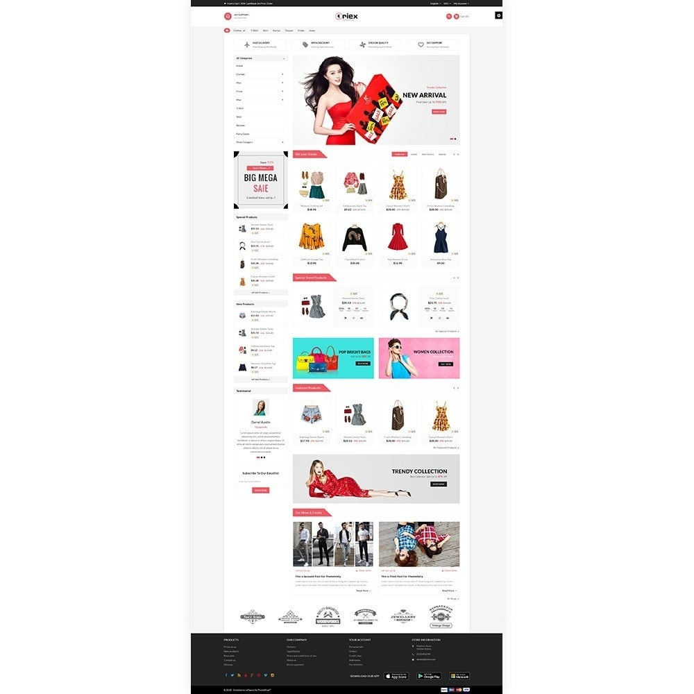 theme - Mode & Schoenen - Oriex Fashion Boom Stylish Stop - 2