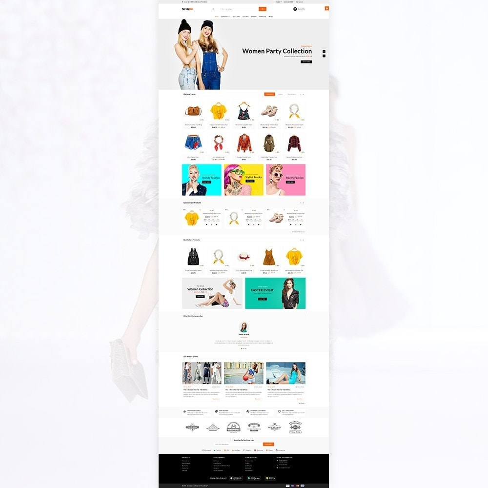 theme - Mode & Schoenen - Shain Fashion Stylish Stop - 2
