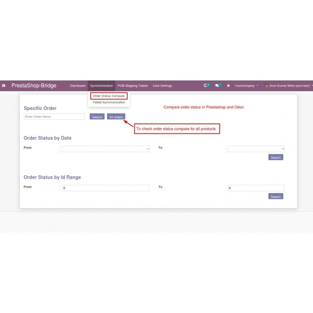 module - Third-party Data Integration (CRM, ERP...) - Odoo - OpenERP Bridge - 20