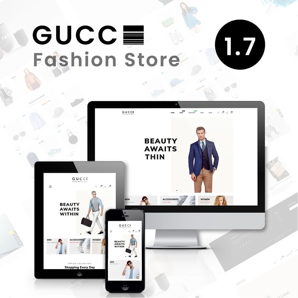 theme - Fashion & Shoes - Gucci Fashion Store - 1