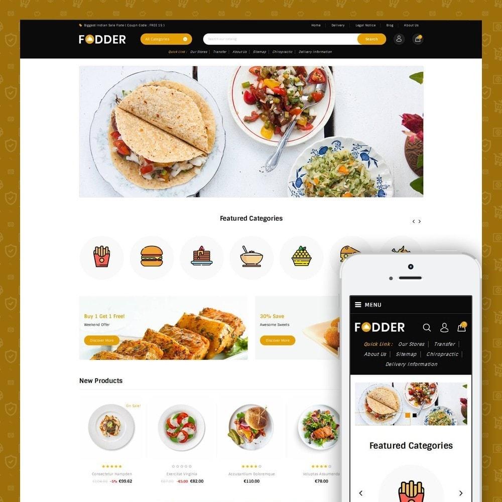 theme - Food & Restaurant - Fodder - Online Restaurant Store - 1