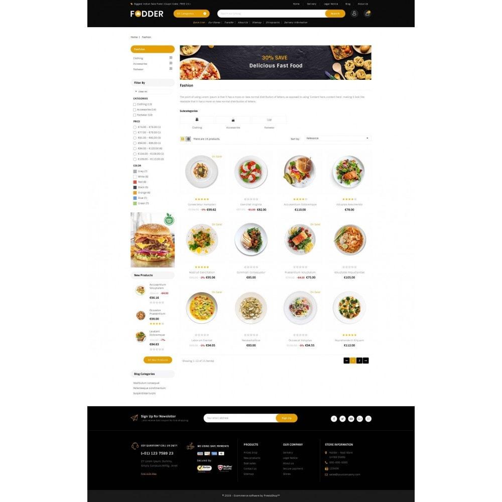 theme - Food & Restaurant - Fodder - Online Restaurant Store - 3