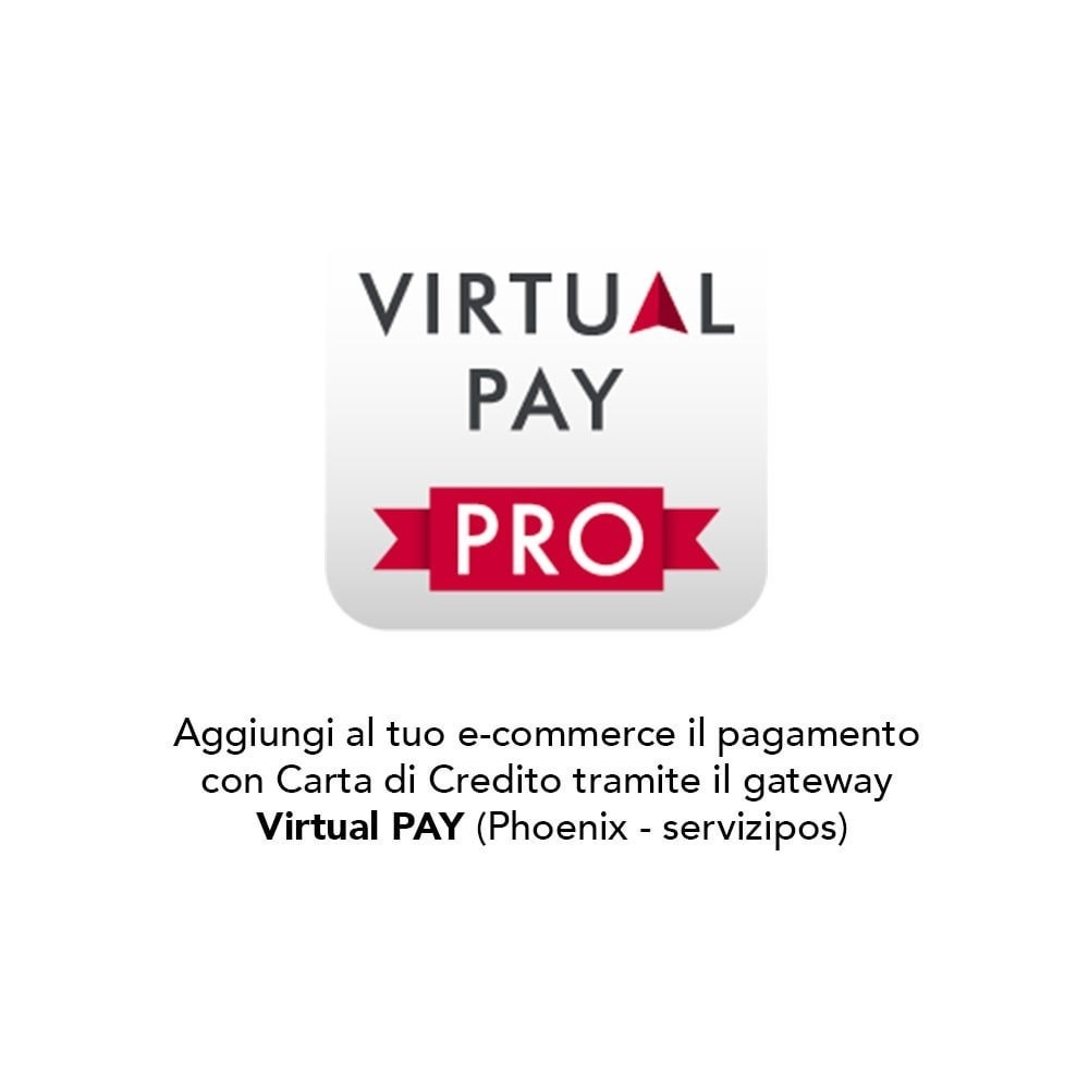 module - Pagamento con Carta di Credito o Wallet - VirtualPay Pro - B2CPay POS Virtuale - 1