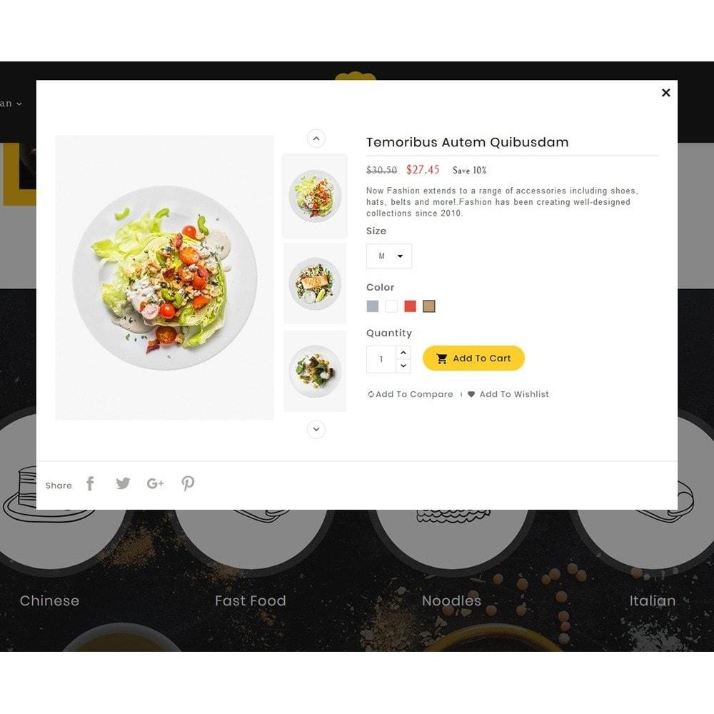 theme - Alimentos & Restaurantes - Retro Cafe - Food & Dishes - 8