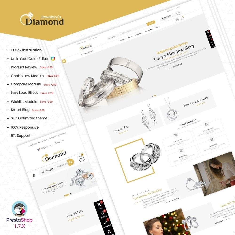 theme - Biżuteria & Akcesoria - Jewellery - 1