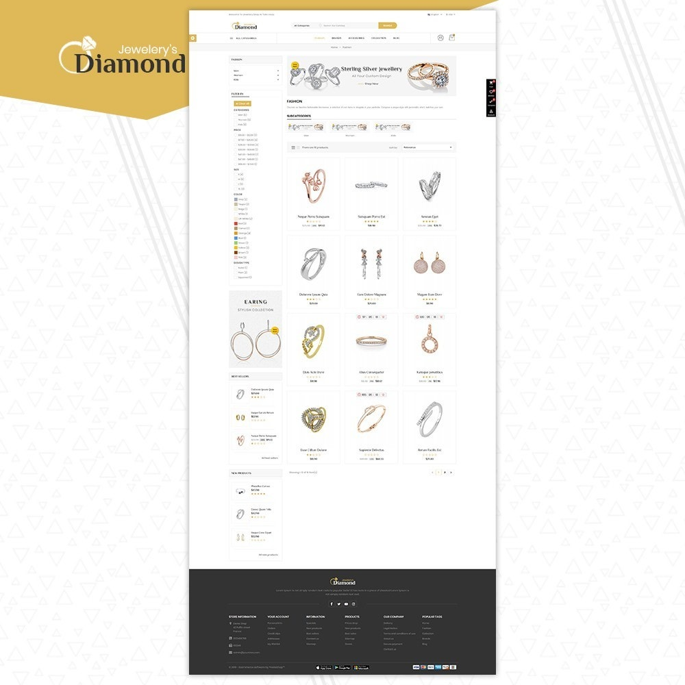 theme - Biżuteria & Akcesoria - Jewellery - 3
