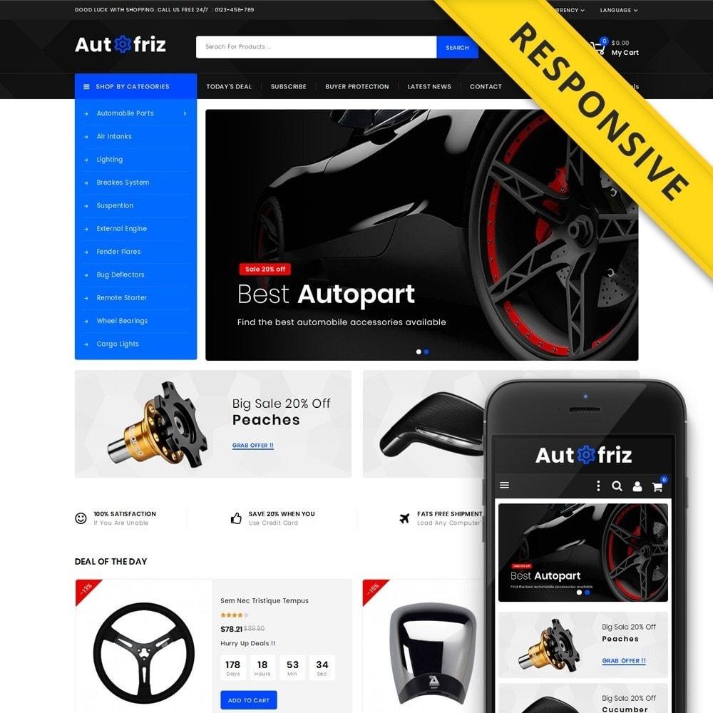 theme - Carros & Motos - AutoFriz - Spare Parts Store - 1