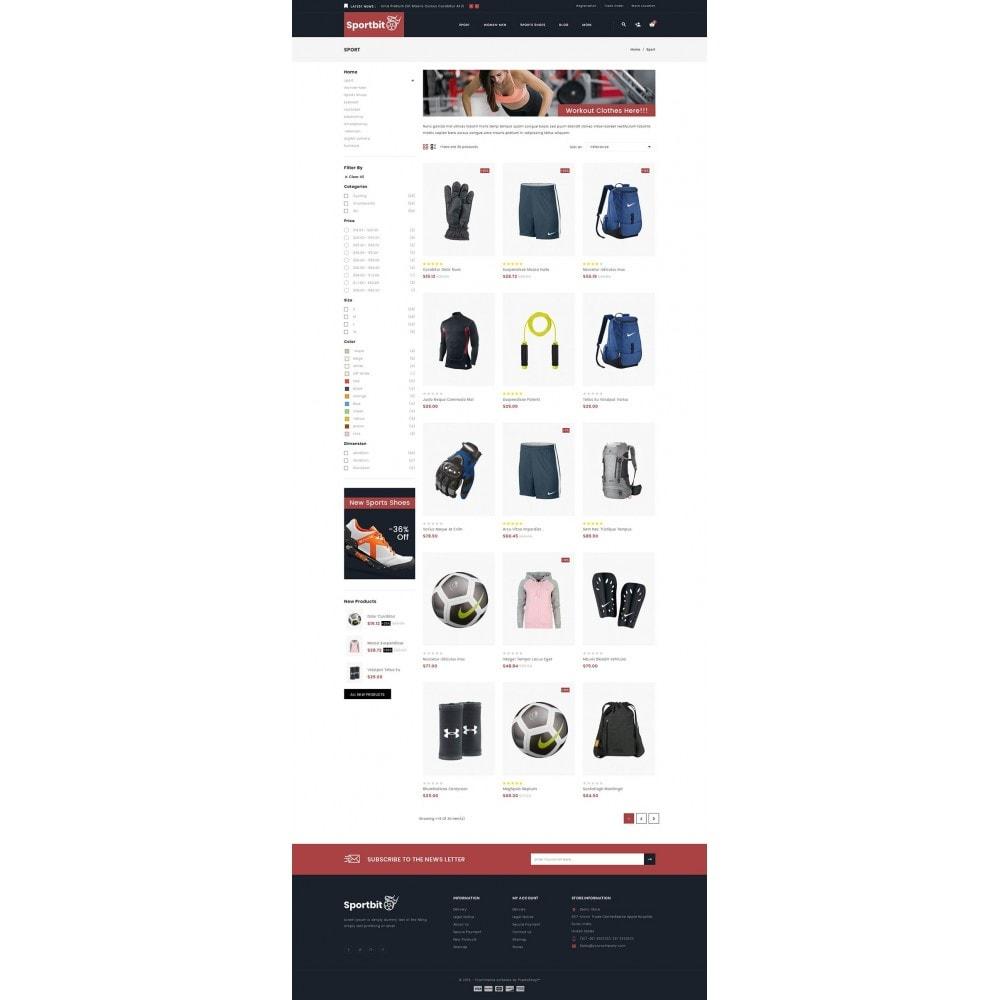 theme - Health & Beauty - Sportbit - Fitness Store - 3