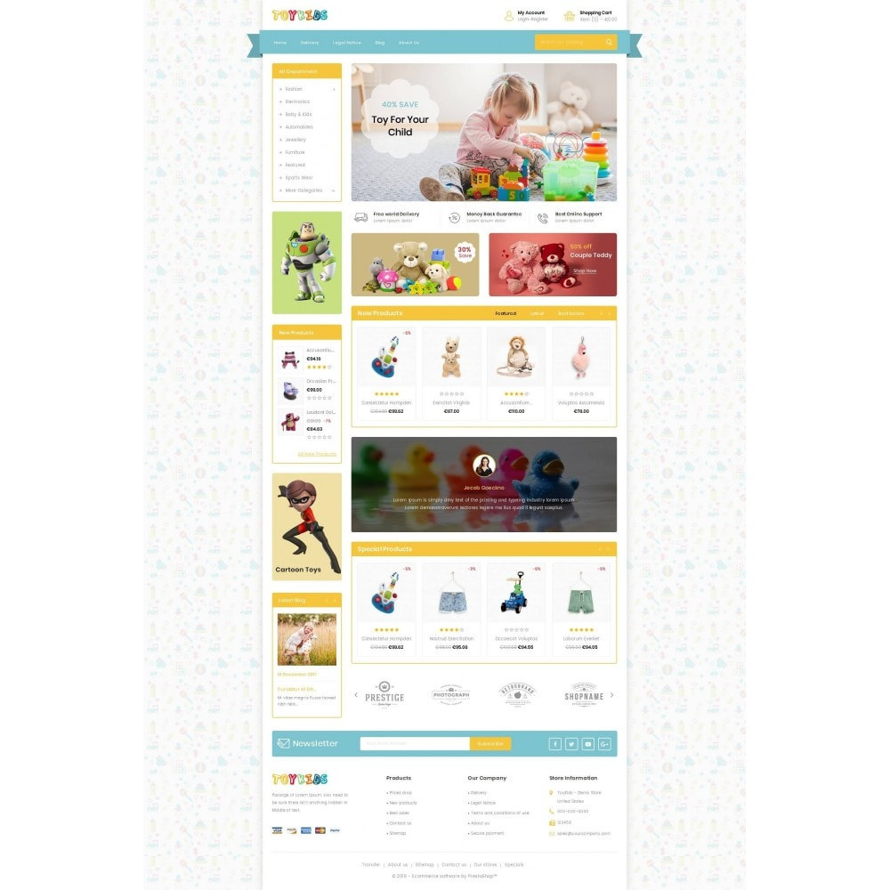 theme - Kids & Toys - Toy Kids Store - 2