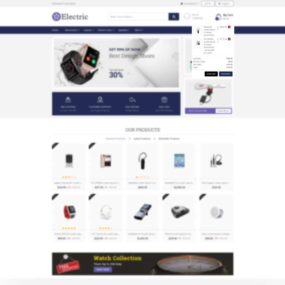 theme - Электроника и компьютеры - Electric - Electronics Store - 6