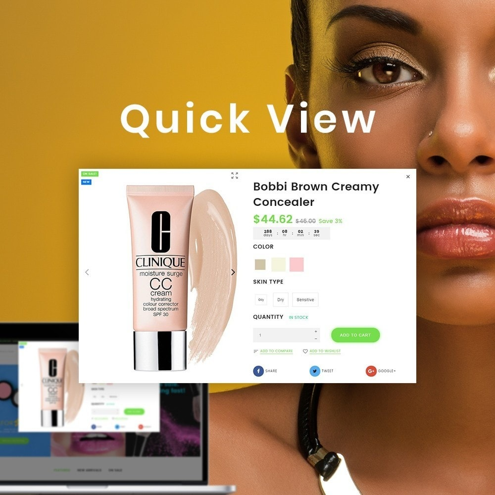 theme - Здоровье и красота - Vente - Organic Cosmetics Store - 2