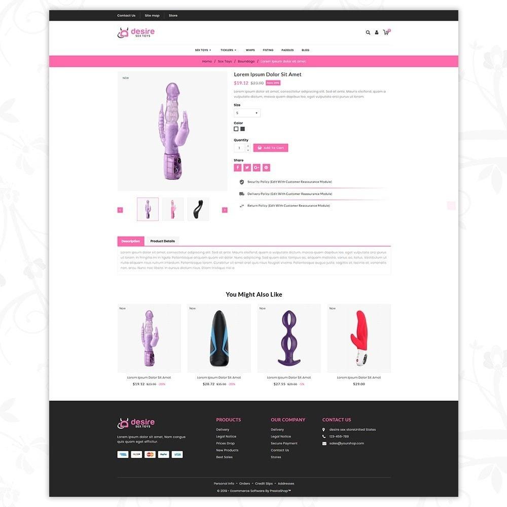 theme - Lingerie & Adultos - Desire toy (Adult store) - 5