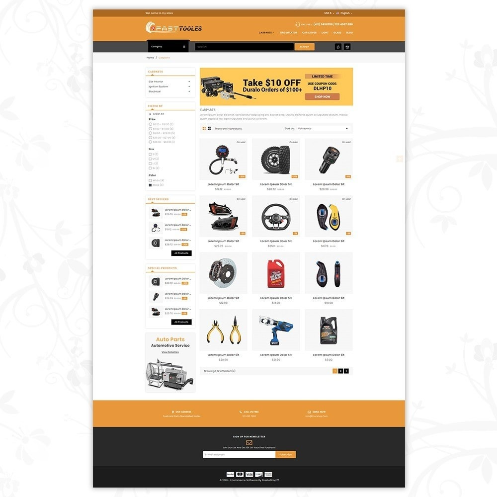 theme - Automotive & Cars - Fast Tools - 3