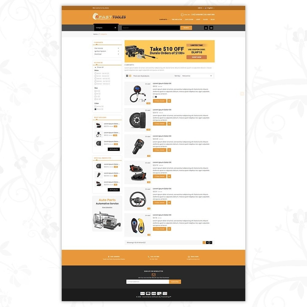 theme - Automotive & Cars - Fast Tools - 4