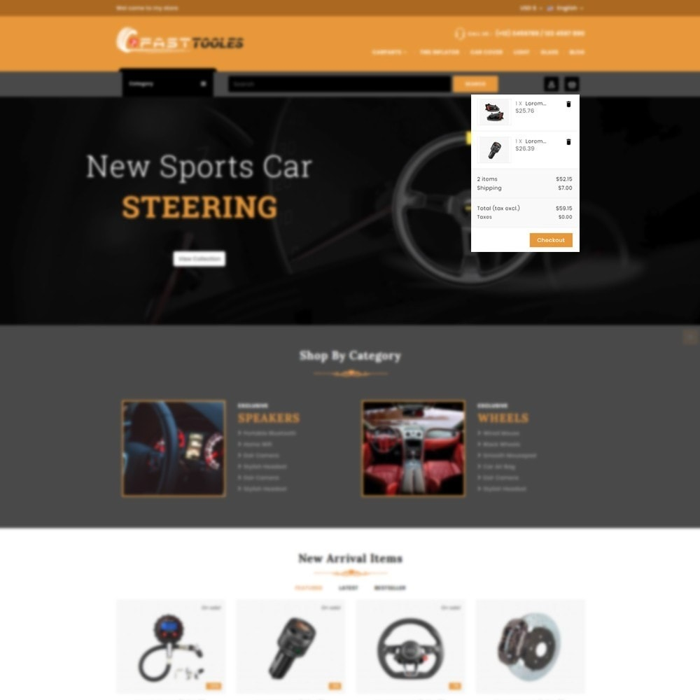 theme - Automotive & Cars - Fast Tools - 7