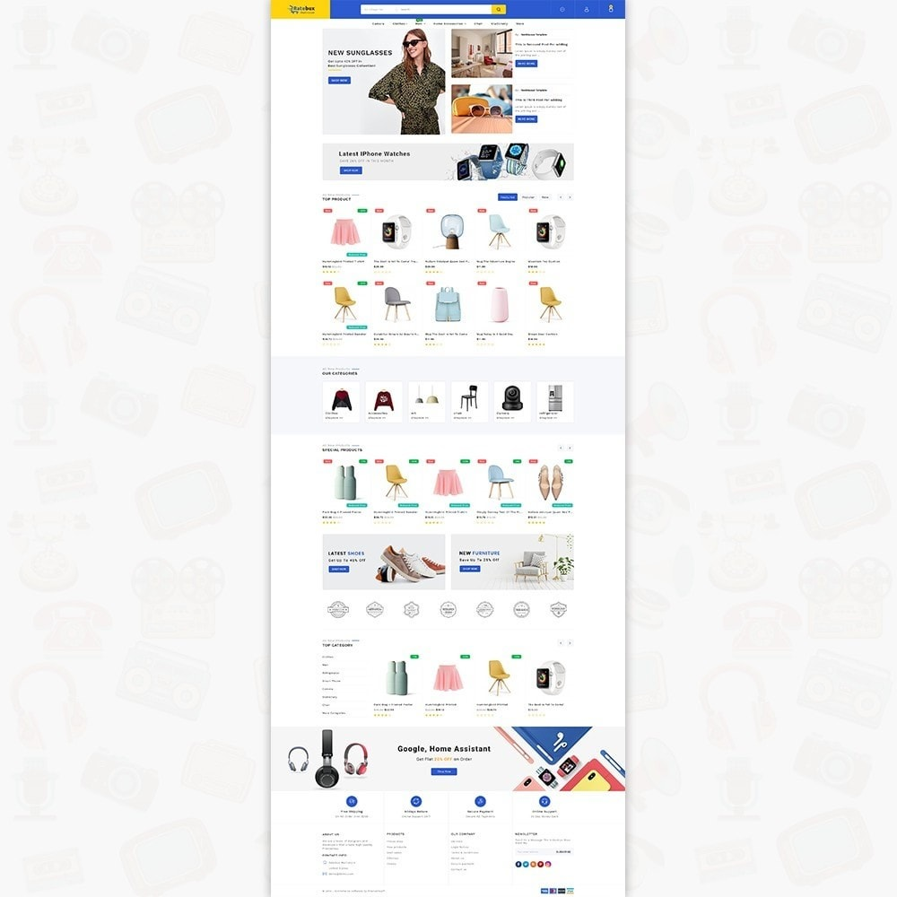 Rutebux The MultiStore Template