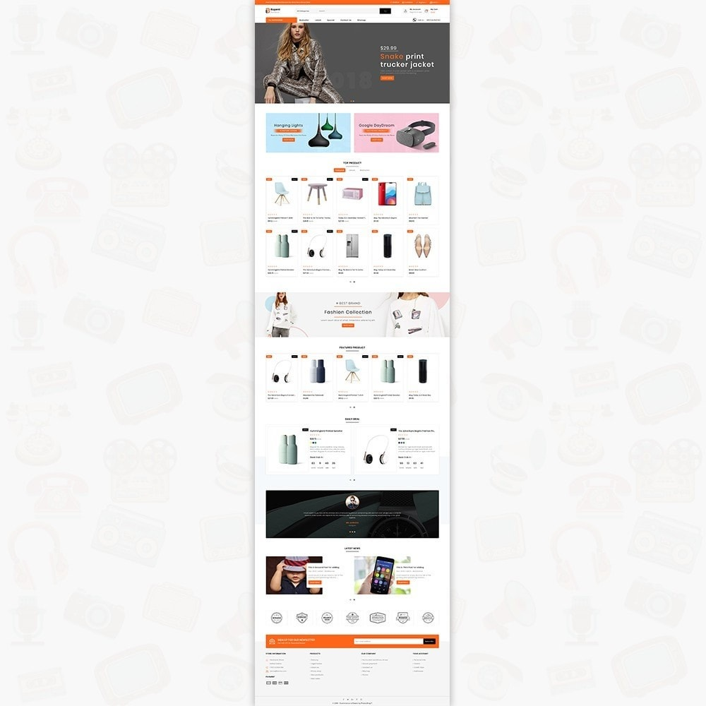 theme - Electronics & Computers - Buyent - The Best MultiStore Theme - 2
