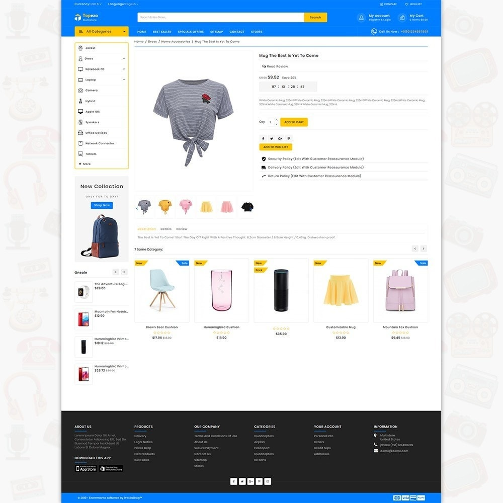 theme - Electronics & Computers - Topezo - The Best MultiStore Theme - 5