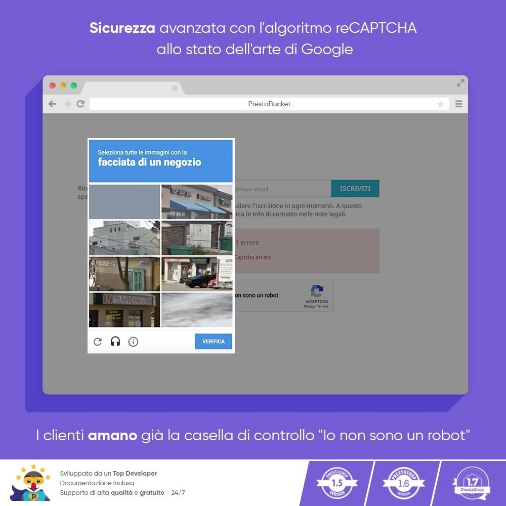 module - Security & Access - CAPTCHA Google reCAPTCHA PRO + anti Conti Contraffatti - 7