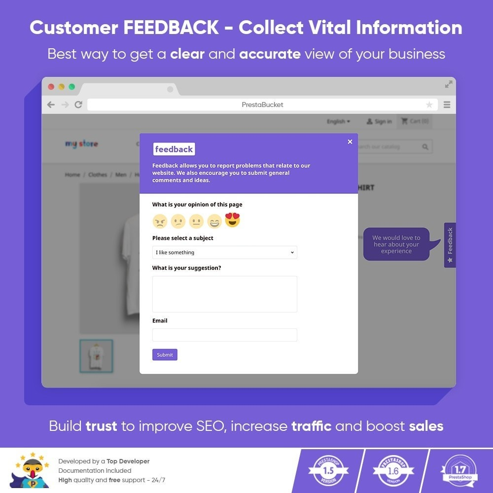 module - Customer Reviews - Advanced Customer FEEDBACK Collect Vital Information - 1