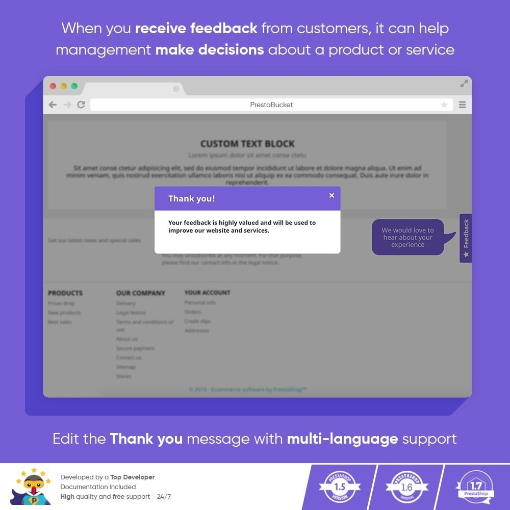 module - Customer Reviews - Advanced Customer FEEDBACK Collect Vital Information - 10