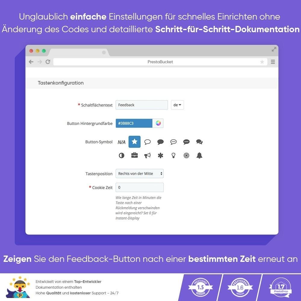 module - Kundenbewertungen - KUNDENFEEDBACK - Sammeln Sie Wichtige Informationen - 2