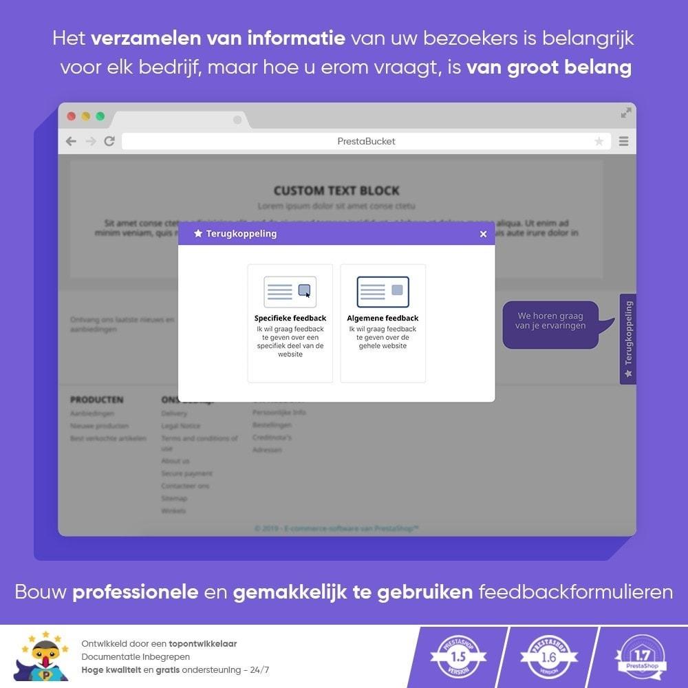 module - Klantbeoordelingen - Klant FEEDBACK - Verzamel Vitale Informatie - 9