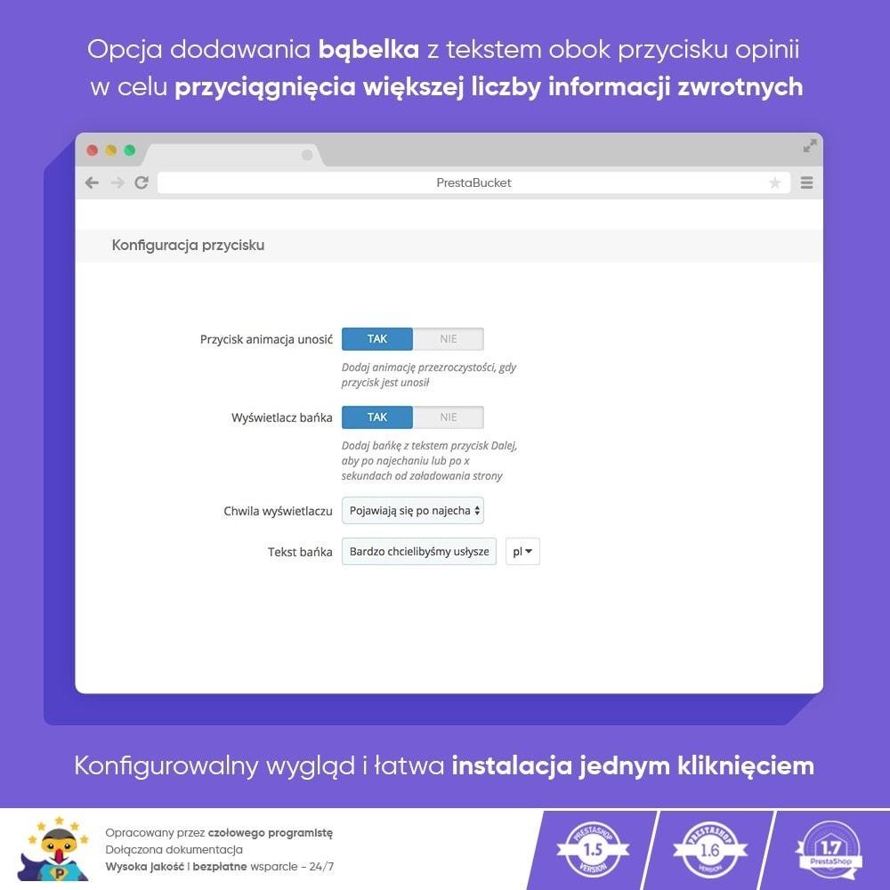 module - Opinie klientów - Klient INFORMACJE ZWROTNE Zbieraj Istotne Informacje - 3