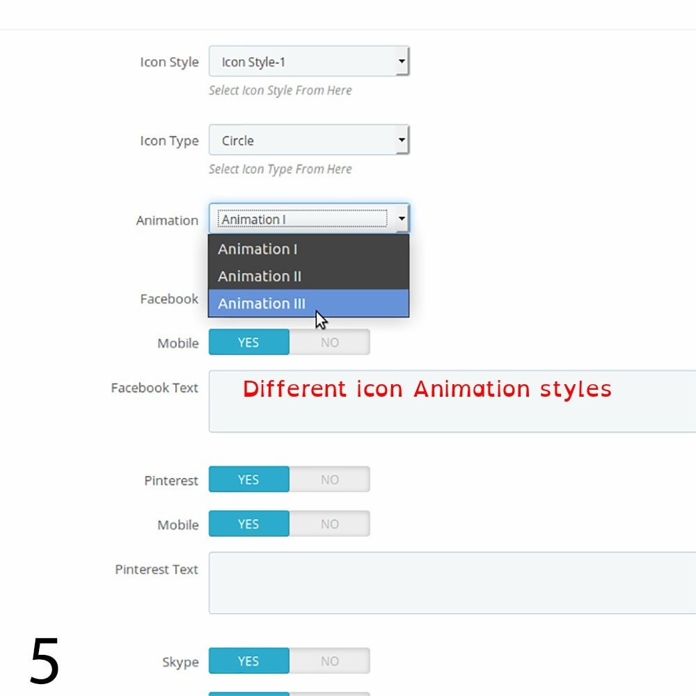 module - Rechtssicherheit - DSGVO Social Media Share Buttons Pro 2019 - 5
