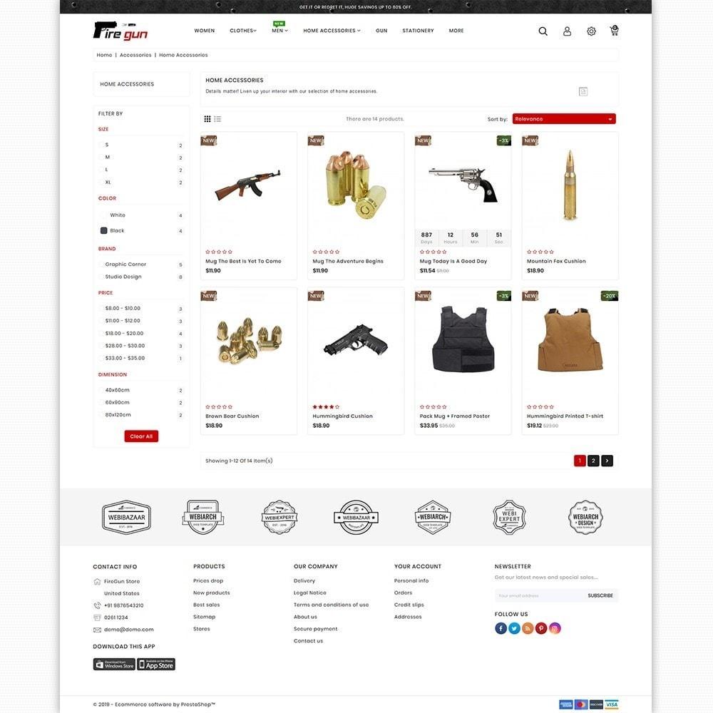 theme - Sport, Attività & Viaggi - Firegun - Gun & Weapons Store - 3