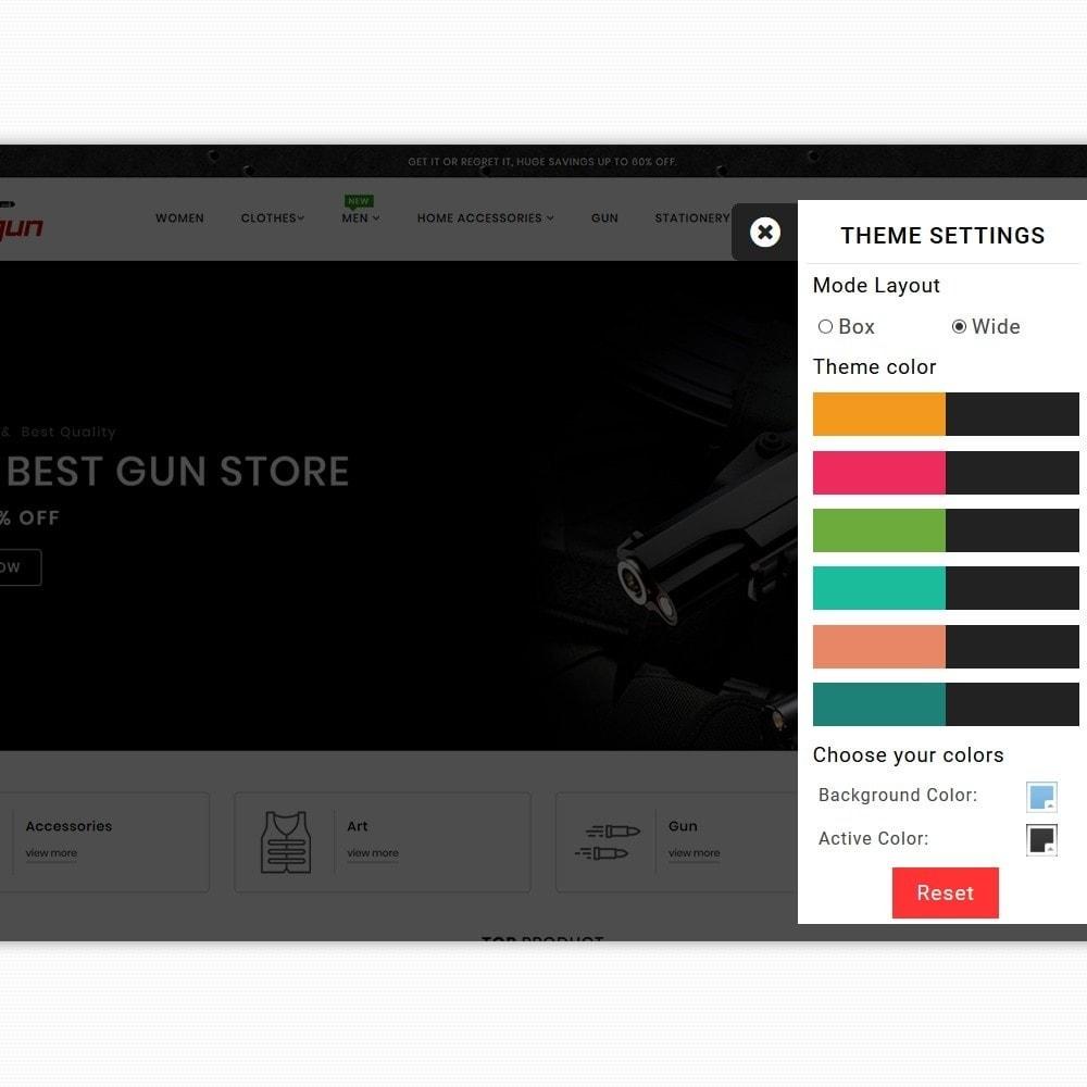 theme - Sport, Attività & Viaggi - Firegun - Gun & Weapons Store - 8