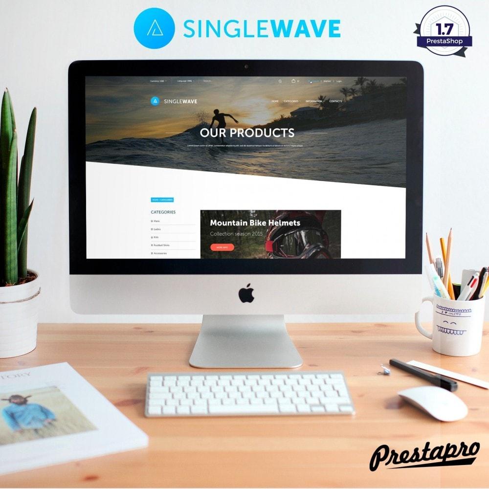 theme - Sport, Attività & Viaggi - Surfwave Negozio di articoli sportivi e da surf - 3