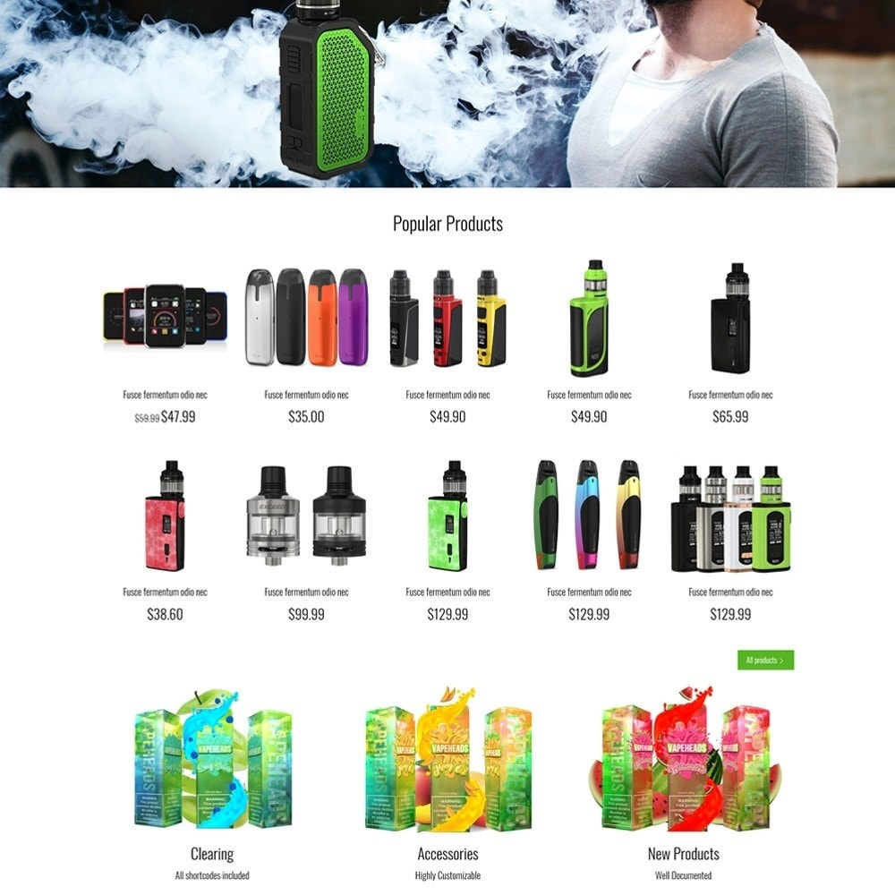 theme - Drink & Wine - e-Cig Shop - 4