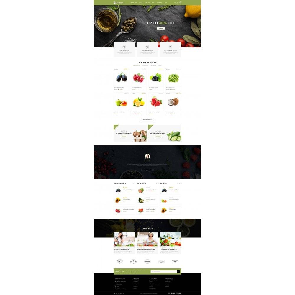 theme - Home & Garden - Green Cart - Organic Store - 2