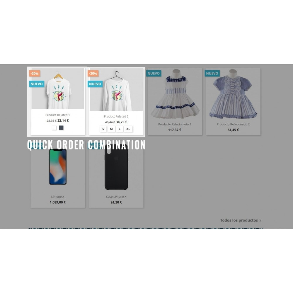 module - Bundels & Personalisierung - Quick Cart with combinations - 3