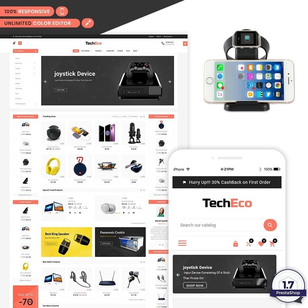 theme - Electronics & Computers - Tech Eco Electronic Shop - 1