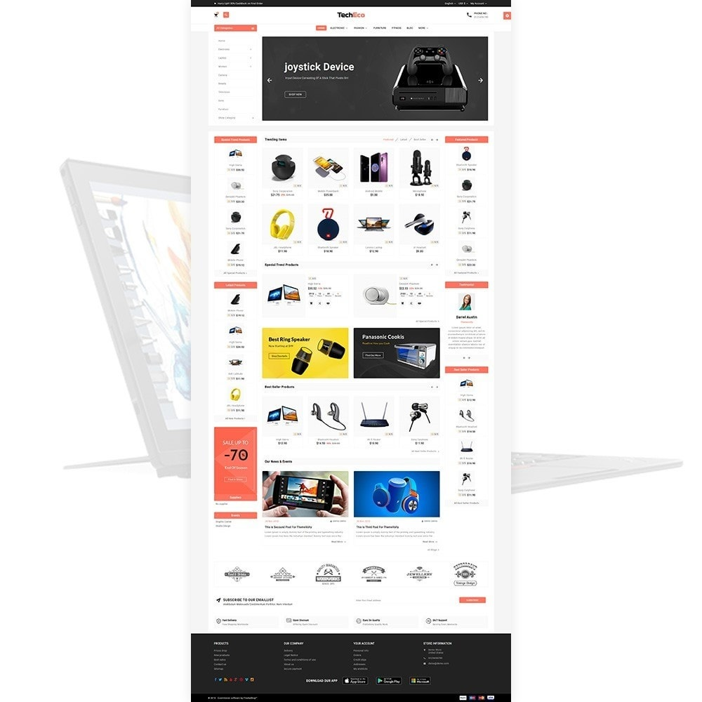 theme - Electronics & Computers - Tech Eco Electronic Shop - 2
