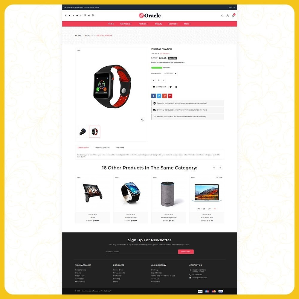 theme - Electronique & High Tech - Elettr Oracle - Electronics Store - 4