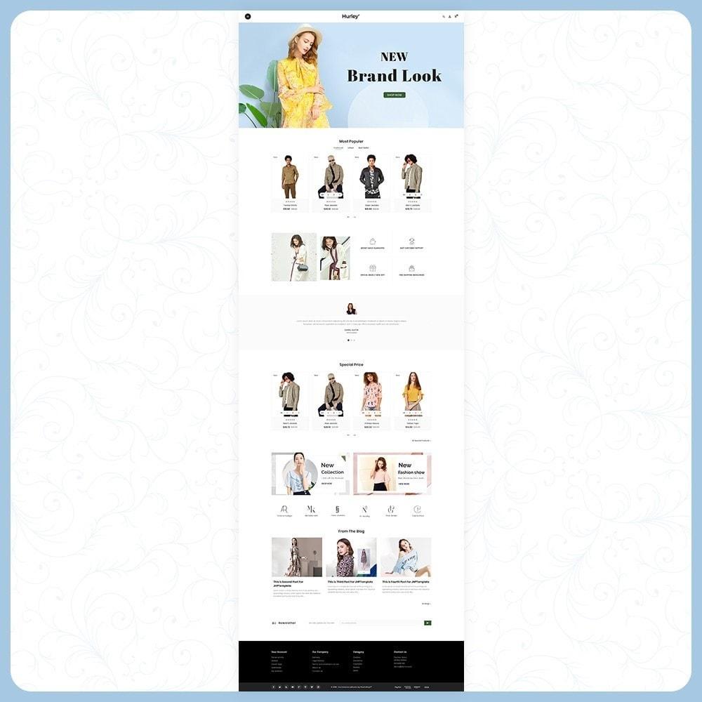 theme - Moda & Calçados - Hurley Fashion Store - 2