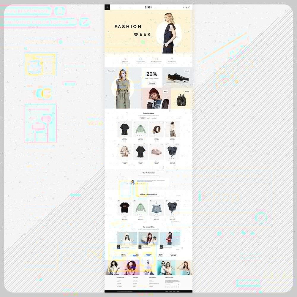 theme - Fashion & Shoes - Cinch Fashion Super Market - 2