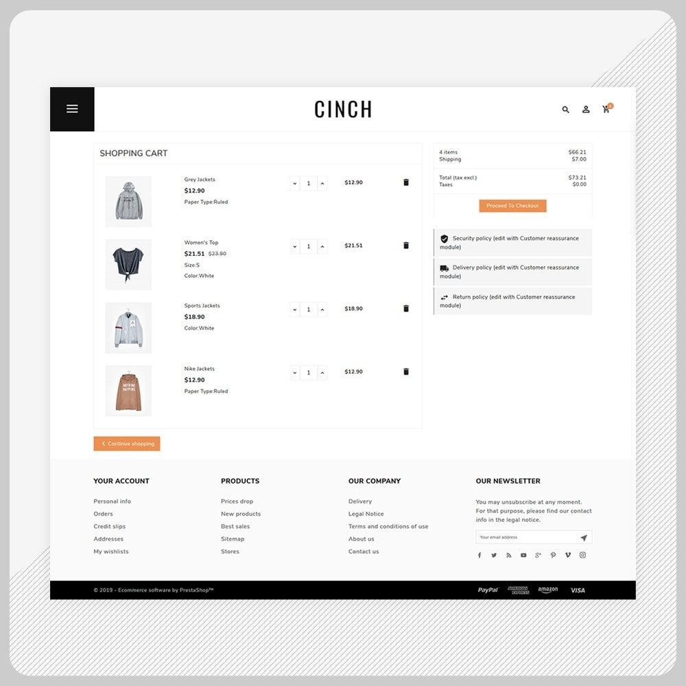 theme - Fashion & Shoes - Cinch Fashion Super Market - 5