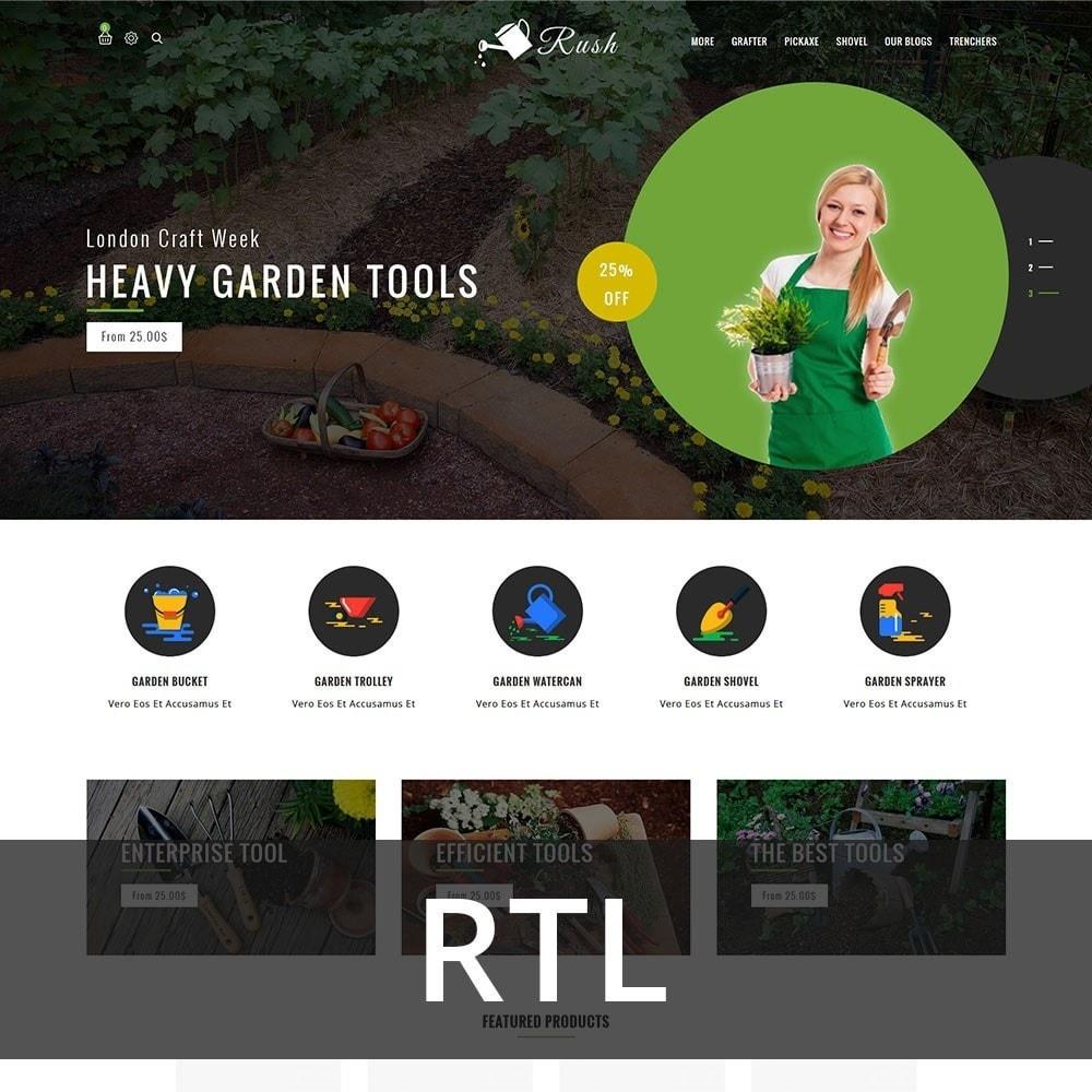 theme - Home & Garden - Rush - The Gardening Tools - 3