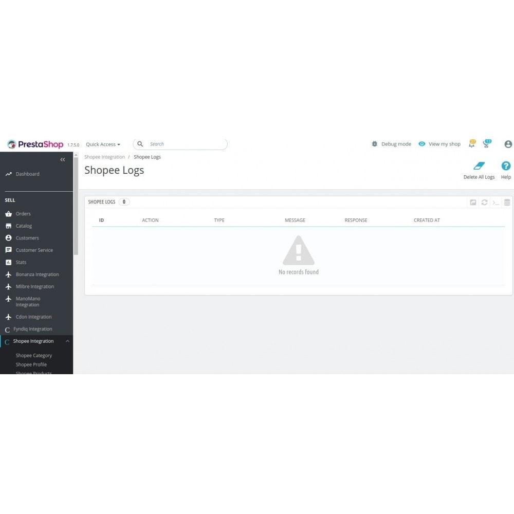 module - Integración con CRM, ERP... - CedCommerce Shopee Integration - 16