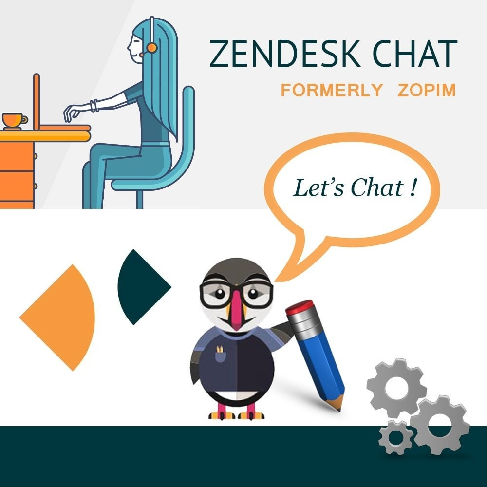 module - Поддержка и онлайн-чат - Онлайн чат от Zendesk - 1