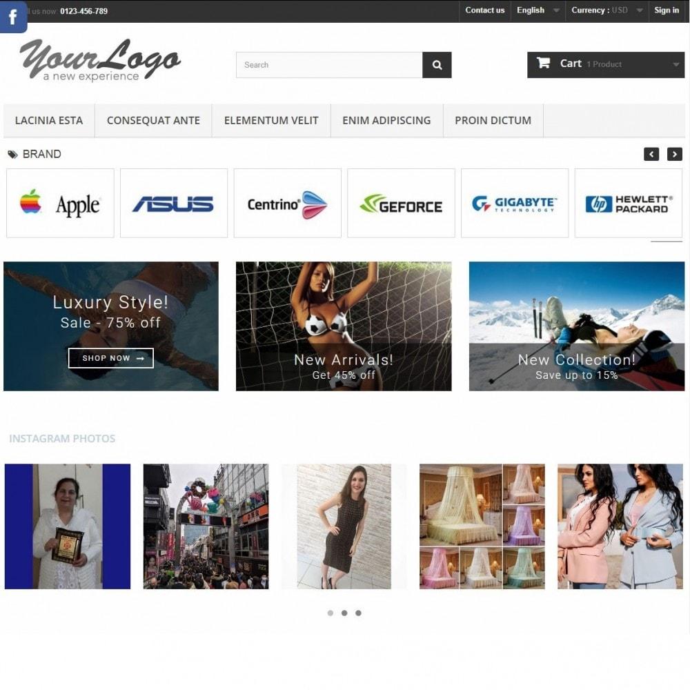 module - Слайдеров (карусельных) и галерей - Instagram Carousel with New API - 2