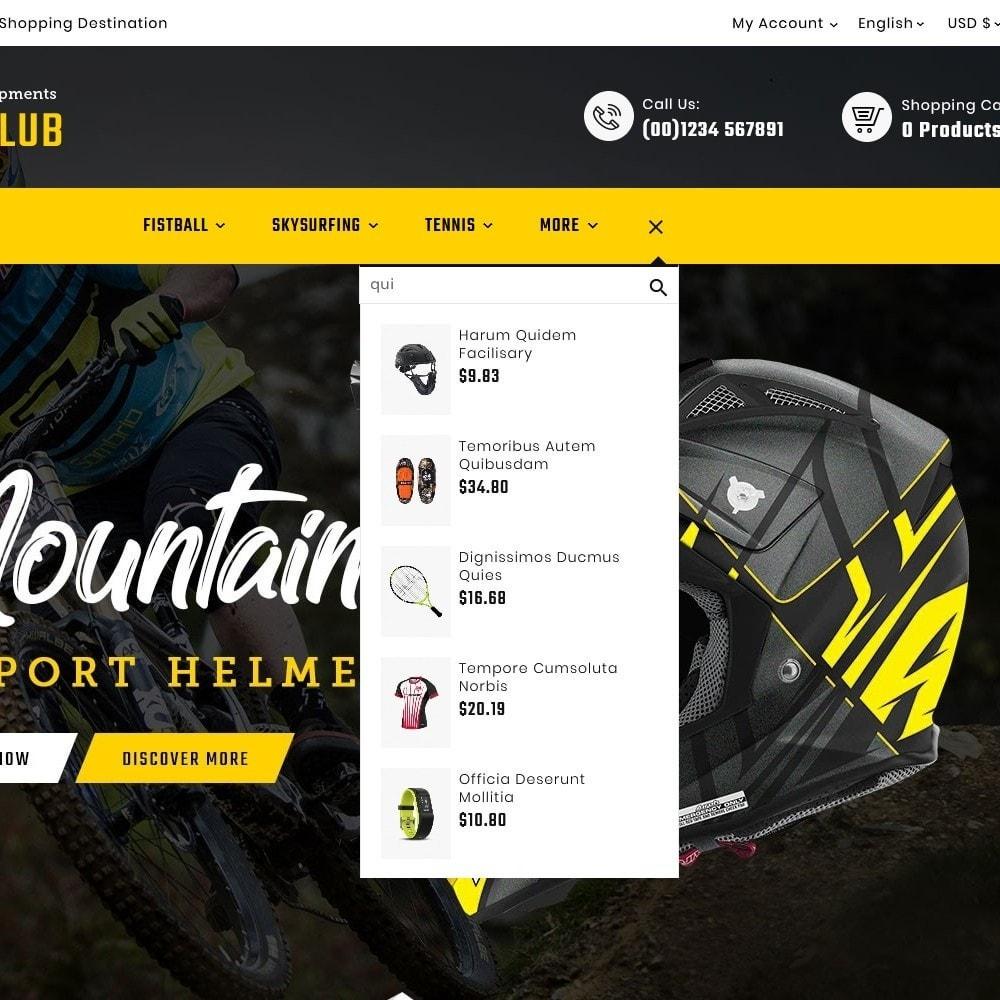 theme - Desporto, Actividades & Viagens - Mountain - Sports & Equipment - 10