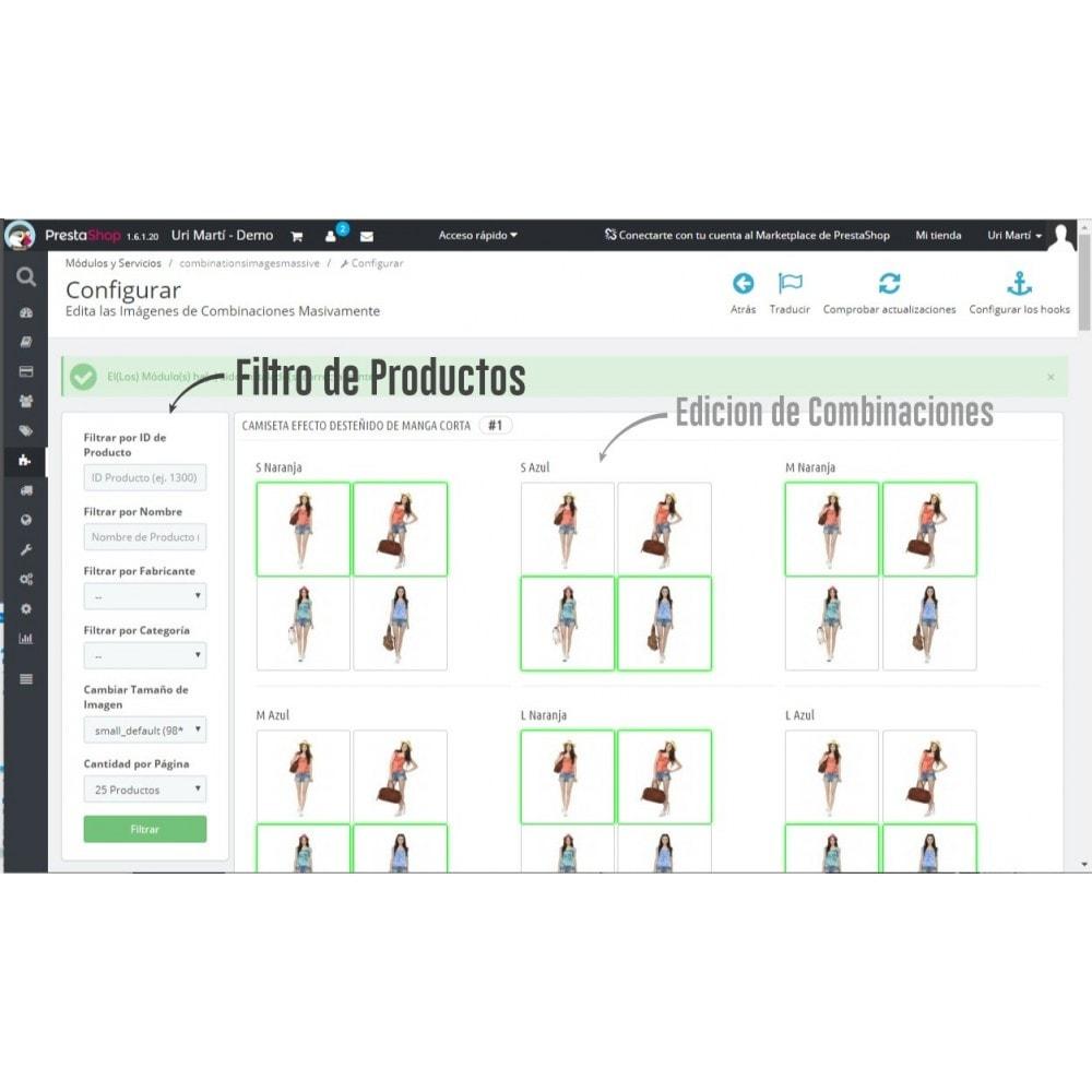 module - Combinaciones y Personalización de productos - Asignar Imágenes a Combinaciones Masivamente - 2