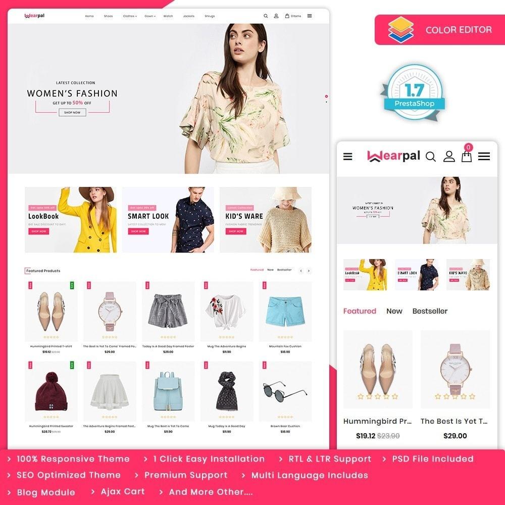 theme - Moda & Calçados - Wearpal - The Fashion Store - 1